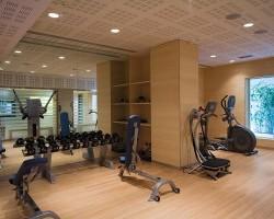 fitness room thotel
